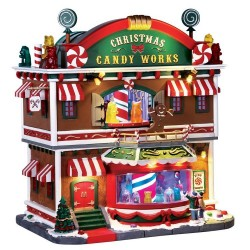 Christmas Candy Works with 4.5V Adaptor Cod. 65164