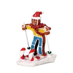 Candy Cane Skier Cod. 72484