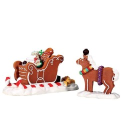Santa's Sleighride Set of 2 Cod. 73294