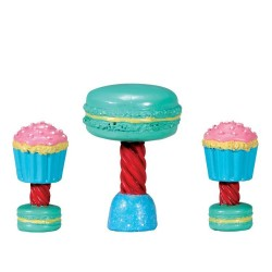 Dessert Table Set Set of 3 Cod. 74205