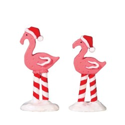 Pink Flamingos Set of 2 Cod. 74209