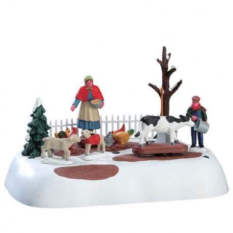 Winter Farm Chores B/O 4.5V Cod. 74210