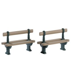 Double Seated Bench Set of 2 Cod. 74235