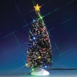Evergreen Tree with 24 Multi Light B/O 4.5V Cod. 74263