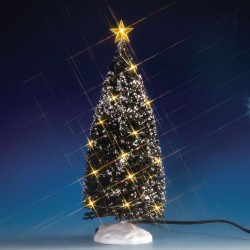 Evergreen Tree with 24 Clear Light B/O (4.5V) Cod. 74264