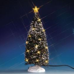 Evergreen Tree with 24 Clear Light B/O 4.5V Cod. 74264