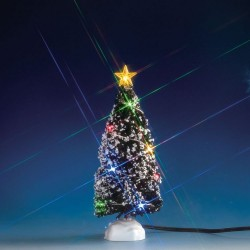 Evergreen Tree with 12 Multi Light B/O 4.5V Cod. 74266
