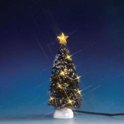Evergreen Tree with 12 Clear Light B/O 4.5V Cod. 74267