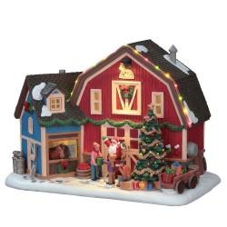 Christmas At the Farm con Alimentatore 4.5V Cod. 75192