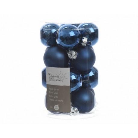 Mini palline in vetro dim 3 5 cm 16 pezzi for Lampadario palline vetro