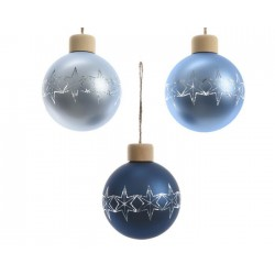 Pallina di Natale in Vetro Dim. 8 cm. Pezzo Singolo