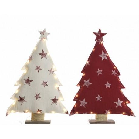 Alberi di Natale con Led Medi Dim. 10.5x43x70 cm 18 Luci . Pezzo Singolo