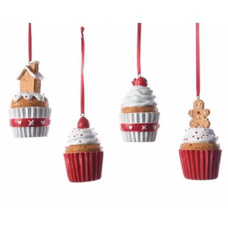 Cupcake da Appendere 8 cm. Pezzo Singolo