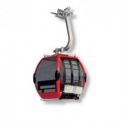 Cabina per SKy Lift Rosso/Nero