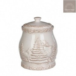 Vaso In Ceramica Porta Zucchero Medio