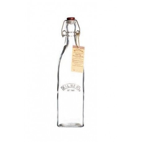 Bottiglia Chius. Ermetica Quadrata 0,55 l