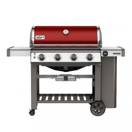 Barbecue Weber a Gas Genesis II E-410 GBS Crimson Red Cod. 62030129