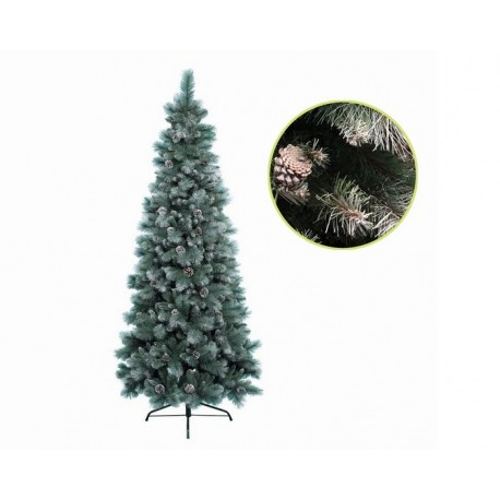 Albero di Natale Slim Norwich Innevato 180 cm
