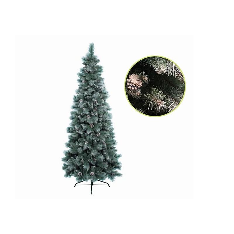 Albero Di Natale 150 Cm.Albero Di Natale Slim Norwich Innevato 150 Cm