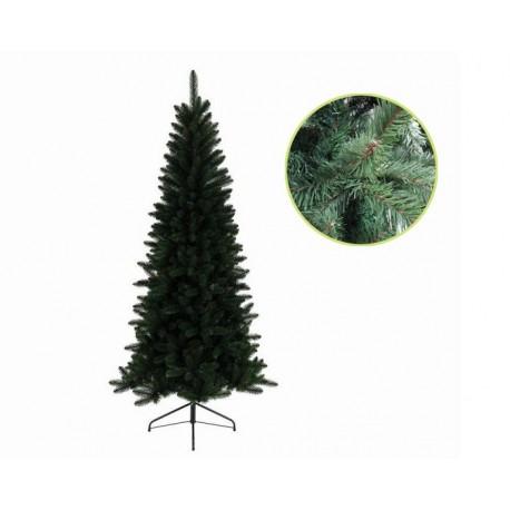 Albero Di Natale Slim 210.Albero Di Natale Slim Lodge Pine 210 Cm