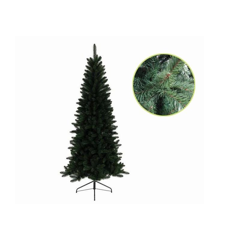 Albero Di Natale Slim 240.Albero Di Natale Slim Lodge Pine 240 Cm