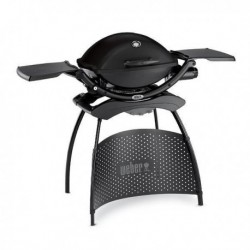 Barbecue Weber a Gas Q 2200 Black + Stand Cod. 54012429
