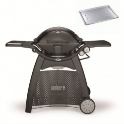 Barbecue a Gas Q 3200 Black Weber + Heat Cod. 57012329