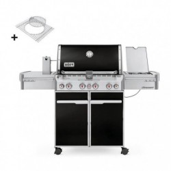 Barbecue Weber a Gas Summit E-470 GBS Black Cod. 7171029