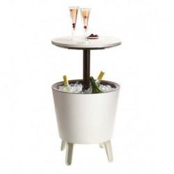 Tavolino in Resina COOL BAR Bianco Keter