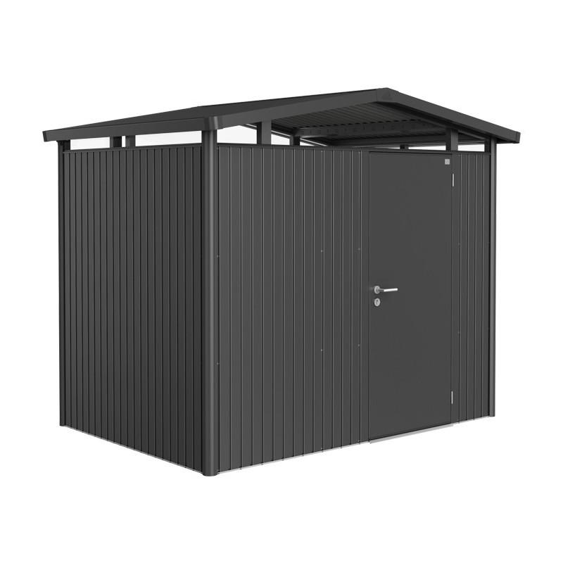 Casette Da Giardino In Metallo.Casetta Da Giardino In Metallo Panorama 3 Porta Standard Biohort
