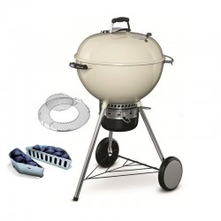 Holzkohlegrill Master-Touch 57 cm GBS Ivory White Weber Cod. 14505004