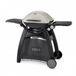 Barbecue a Gas Q 3000 (con Carrello Integrato) Titanium Weber Cod. 56060029