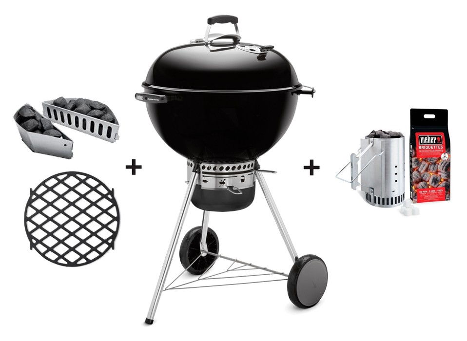 Weber Holzkohlegrill Master Touch Gbs 57 Cm Special Edition : Weber original shop barbecue a carbone master touch special