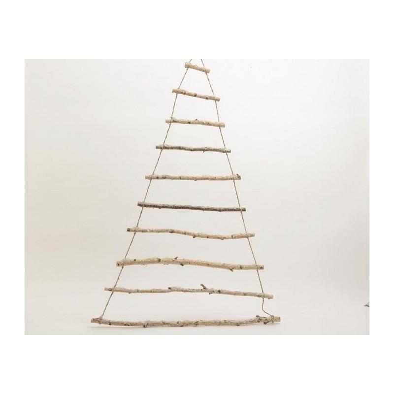Albero Natale Legno.Albero Stilizzato In Legno 180 Cm