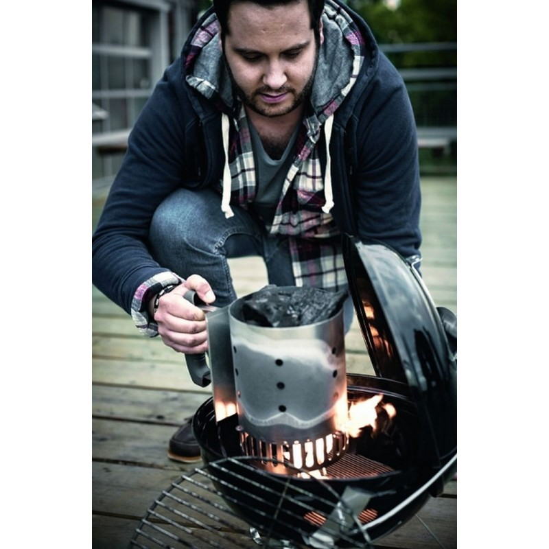 barbecue a carbone smokey joe premium 37 cm black weber cod 1121004. Black Bedroom Furniture Sets. Home Design Ideas