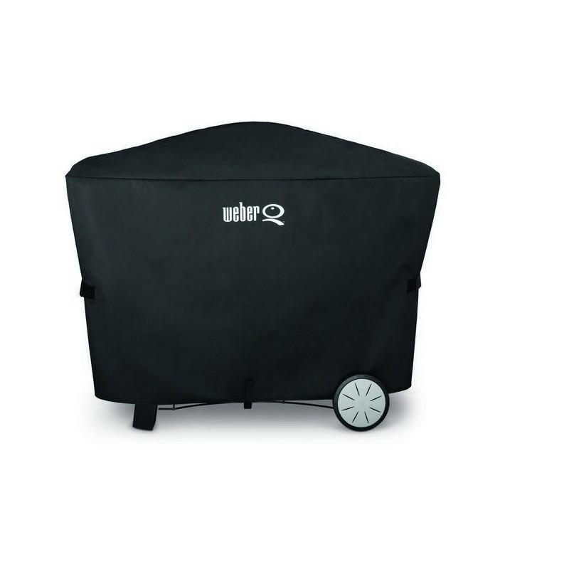 custodia deluxe per barbecue weber q serie 300 e 3000 cod. Black Bedroom Furniture Sets. Home Design Ideas
