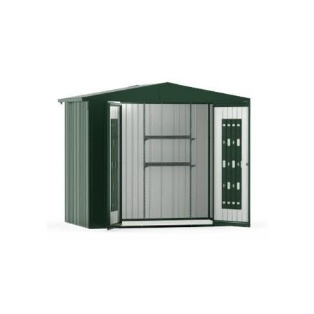 casetta da giardino in metallo europa 3 biohort. Black Bedroom Furniture Sets. Home Design Ideas