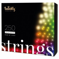 Twinkly STRINGS Smart Weihnachtsbeleuchtung 250 Led RGBW 2019 Version BT+WiFi