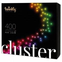Twinkly Intelligente Weihnachtslichter CLUSTER 400 LEDs RGB Generation II