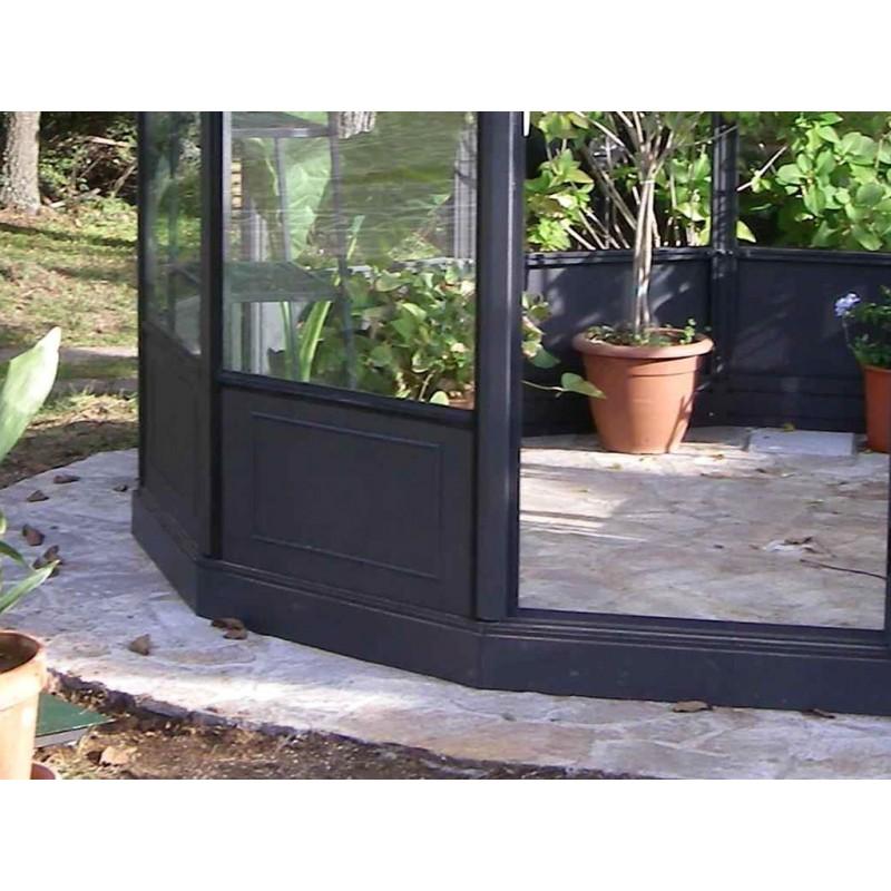 decorazione cornice su pannello per serra professionale. Black Bedroom Furniture Sets. Home Design Ideas