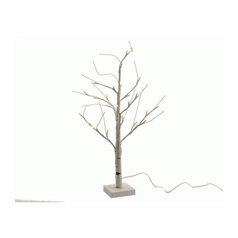 Albero con luci led da esterno. Alt 125 cm 48 led dadolo.com