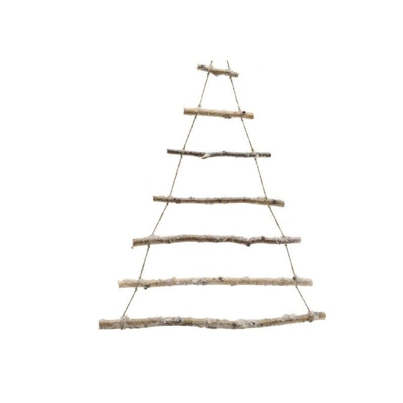 Immagini Natalizie Stilizzate.Ramos Naturales Entrelazados En Forma De Arbol De Navidad