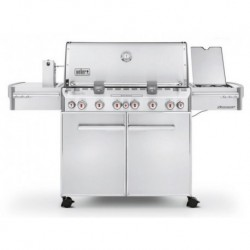 Weber Summit S-670 Gas Barbecue Stainless Steel Ref. 7370029