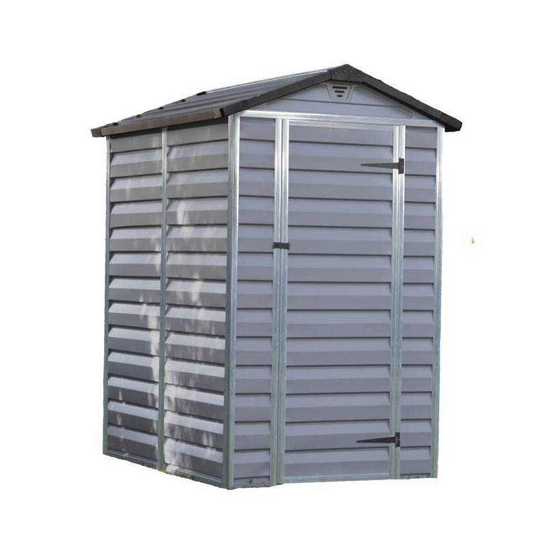 Casetta da giardino skylight shed 4x6 grey palram for Jardin 4x6 shed