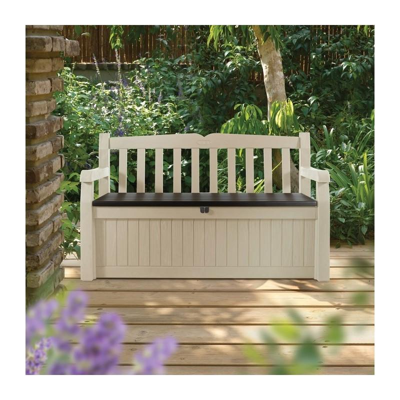 Superb Cassapanca In Resina Garden Bench Bianca Keter Dadolo Com Pabps2019 Chair Design Images Pabps2019Com