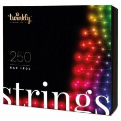 Twinkly STRINGS Luces de Navidad Inteligentes 250 Led RGB 2019 Version BT+WiFi