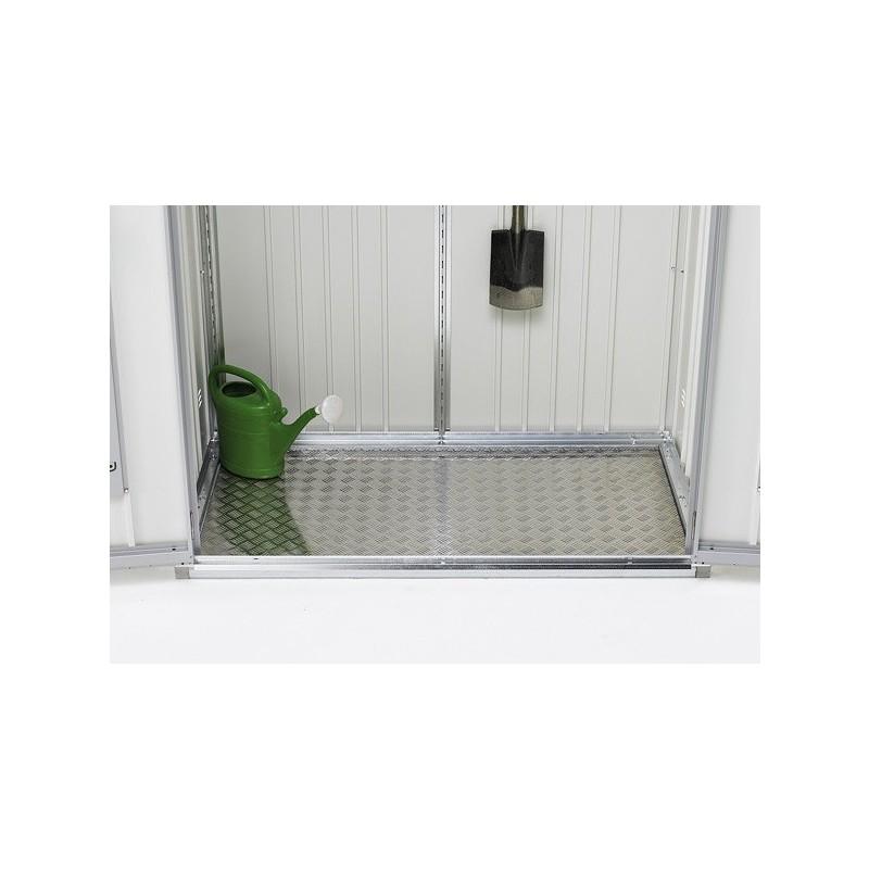 Pavimento in alluminio per armadio per attrezzi in metallo for Casitas de aluminio para jardin