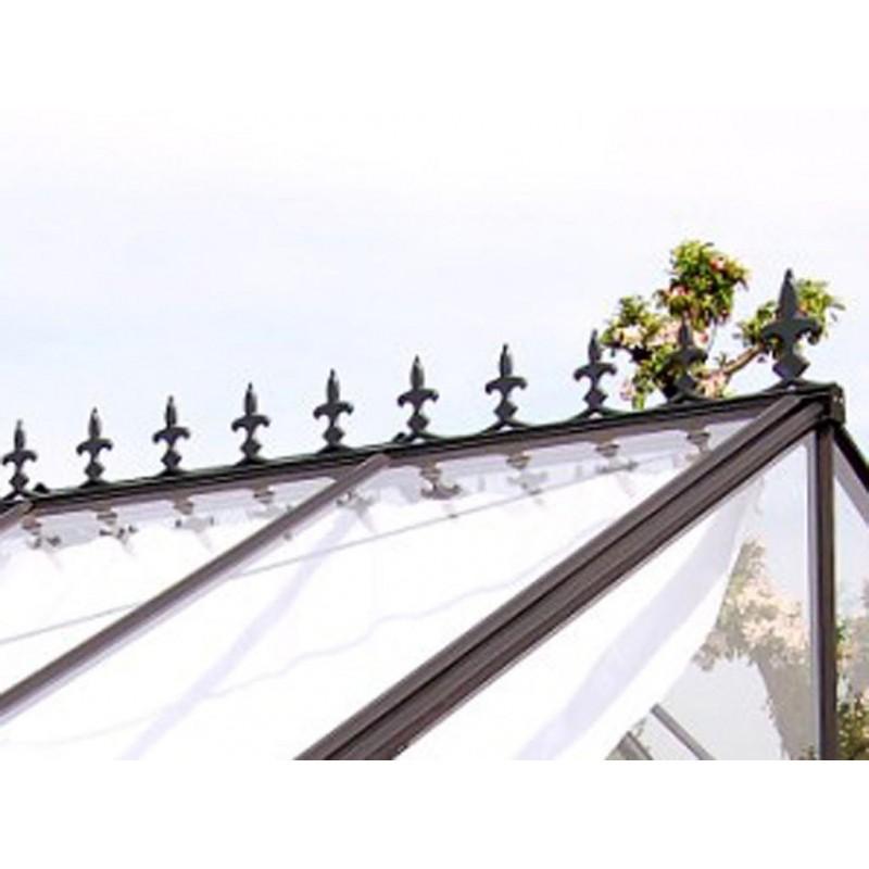 Fregio vittoriano in alluminio per serra professionale for Ornamentacion de jardines