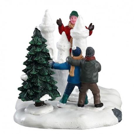 Lemax Snow Castle Weihnachtsdeko Modellbau Weihnachtsdorf