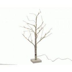 Outdoor Lighted Birch Tree 125 cm 48 LEDs